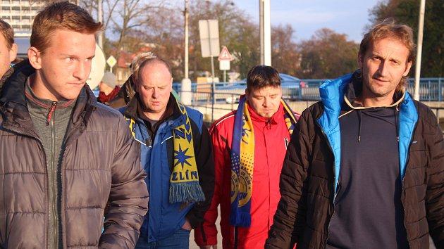 Neděle byla ve Zlíně ve znamení fotbalu a hokeje
