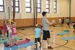 Děti si užily FIT&CORE cvičení