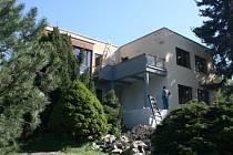 Rekonstrukce Malotovy vily.
