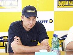 Jezdec rally Pavel Valoušek.