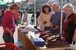 Centrum Vizovic obsadily v sobotu dopoledne farmářské trhy.