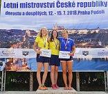 Zlínská plavkyně Michaela Gogelová je mistryní republiky v závodě na padesát metrů prsa.