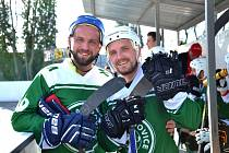 2. hokejbalová liga Malenovice - Flyers Jihlava