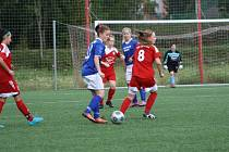 Foto z fotbalového krajského přeboru žen Brumov- Valašské Klobouky 11.0.
