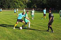 Fotbalisté Mysločovic nezvládli víkendové střetnutí se Štípou, které na vlastním hřišti podlehli vysoko 0:7.