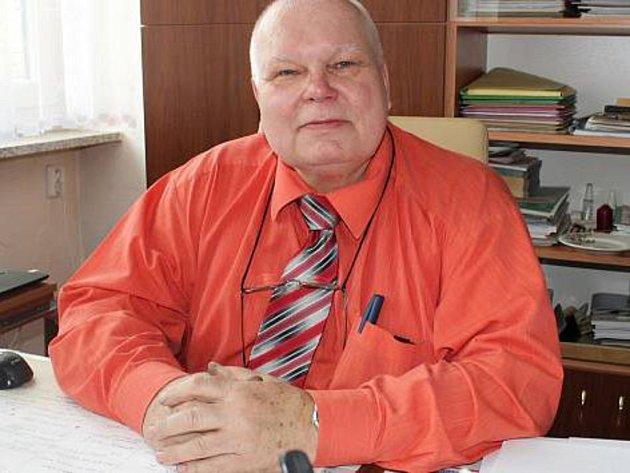 Jaroslav Němeček, starosta obce Pohořelice.