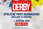 Fotbalové ligové kluby FC Fastav Zlín a 1. FC Slovácko se postavily na stejnou stranu barikády a společně uspořádají virtuální charitativní krajské derby, které se uskuteční v pátek 1. května od osmnácti hodin.