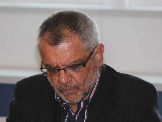 Milan Holomek u krajského soudu ve Zlíně