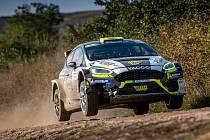 Erik Cais na Rally Hungary