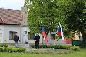 75. výročí konce II. světové války v Tlumačově.