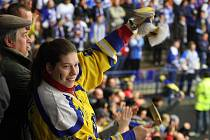 Hokejoví fanoušci. Ilustrační foto