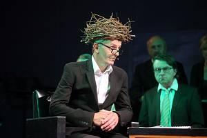 Hra Ovčáček miláček v Městském divadle ve Zlíně.
