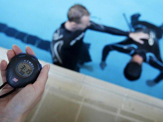 Freediving. Ilustrační foto