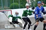 semifinále 2. ligy hokejbal Malenovice - Hodonín