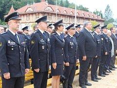 Slavnostní fanfáry rozezněly minulý pátek luhačovické Lázeňské náměstí