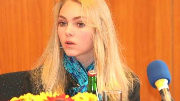Herečka Ann Sofia Robb se stala jednou z hvězd 49. MFFDM ve Zlíně.