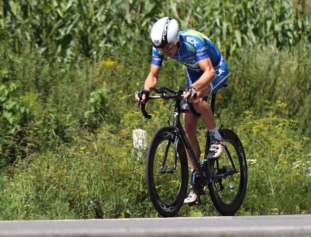cyklista FORCE KCK Cykloteamu Zlín Jiří Slavík