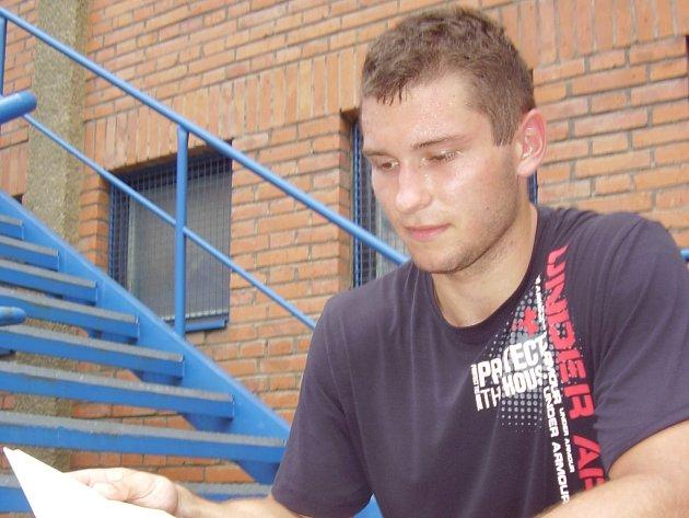 Hokejista Dalibor Řezníček.