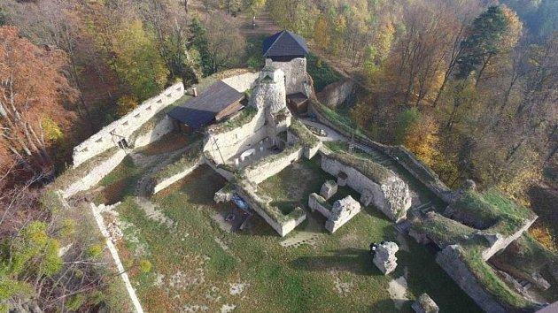 Hrad Lukov.