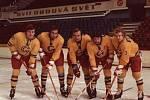 Zleva Petr Šivic, Pavel Mezek, Luděk Pelc, Jiří Vodák a Zdeněk Venera.