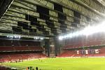 Na Parken Stadium v Kodani, který má kapacitu 38 tisíc diváků, má ve čtvrtek večer dorazit okolo pěti stovek zlínských fanoušků.