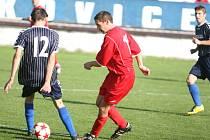 Fotbal Zlín: IV. třída, Lužkovice B - Vizovice