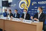 V úterý se uskutečnila tisková konference klubu PSG Berani Zlín před další extraligovou sezonu. N