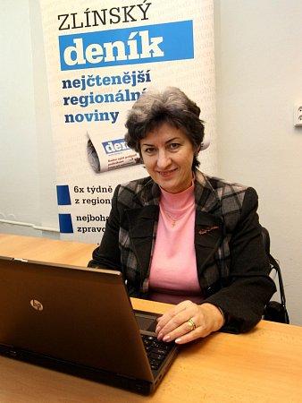 Alena Gajdůšková, 1.místopředsedkyně Senátu
