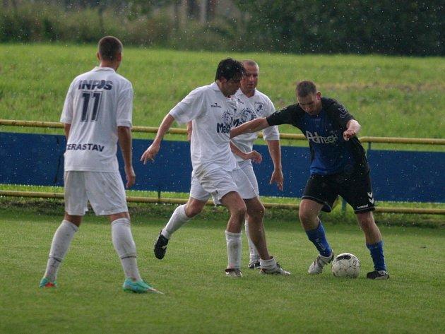 fotbal, III. třída OFS Zlín, Louky - Kostelec (bílí)