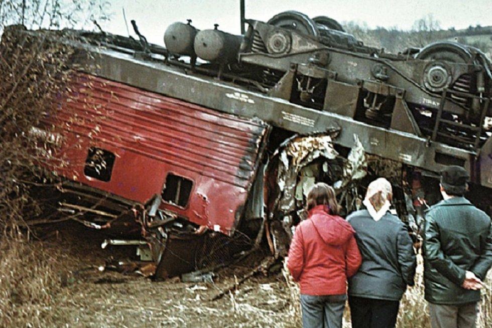 Nehoda u Hradčovic.
