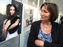 Výstavu Kráska a zvíře zahájila Marta Kubišová.