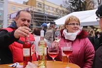 Svatomartinské hody a průvod ve Zlíně. Otevírání  svatomartinských vín.