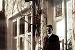 Vila Tomáše Bati ve Zlíně. Tomáš Baťa před svým domem 1931