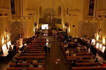 Farní kostel sv.Filipa a Jakuba ve Zlíně.