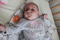 Malá Maruška se narodila jedenáct minut po půlnoci 1. ledna letošního roku.