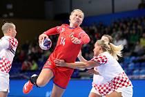 České házenkářky podlehly ve Zlíně Chorvatsku 24:26 a zkomplikovaly si boj o postup na mistrovství Evropy.