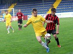 FK Dolní Němčí -FK RAK Provodov. Ilustrační foto.