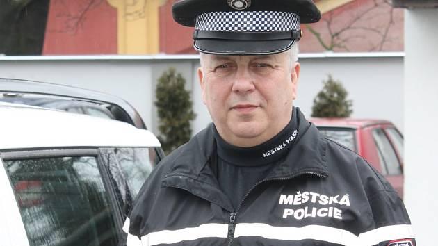 Ředitel Městské policie Napajedla Milan Smělík