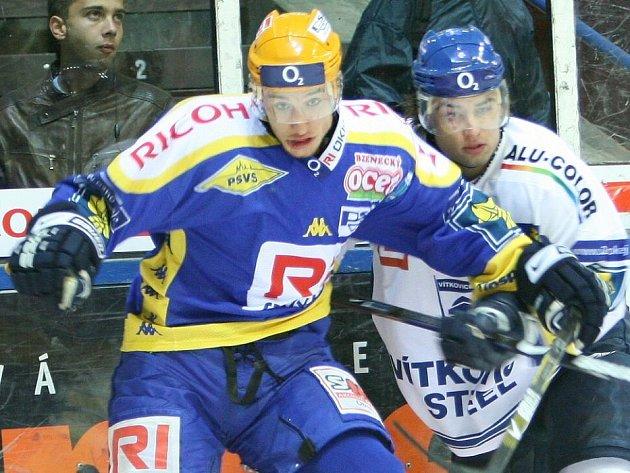 Bedřich Köhler (vlevo)