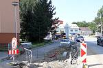 Rekonstrukce ulice Družstevní.