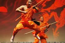 Vystoupení mnichů z chrámu Šao-lin