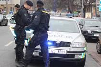 Policie zatýkala v budově Zlínského deníku. Recidivista se ukrýval na WC