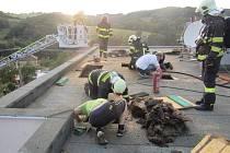 Neobvyklou příčinu vzniku požáru dnes večer řešili hasiči v Želechovicích nad Dřevnicí na Zlínsku.