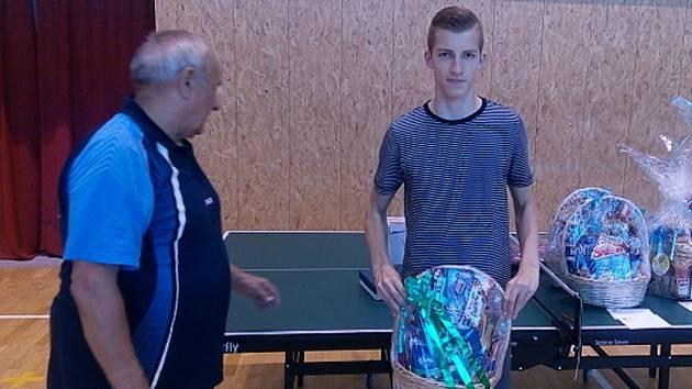 Foto z turnaje ve stolním tenise Slavičín 2016