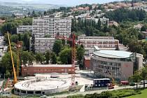 Rozestavěné Kongresové centrum ve Zlíně.