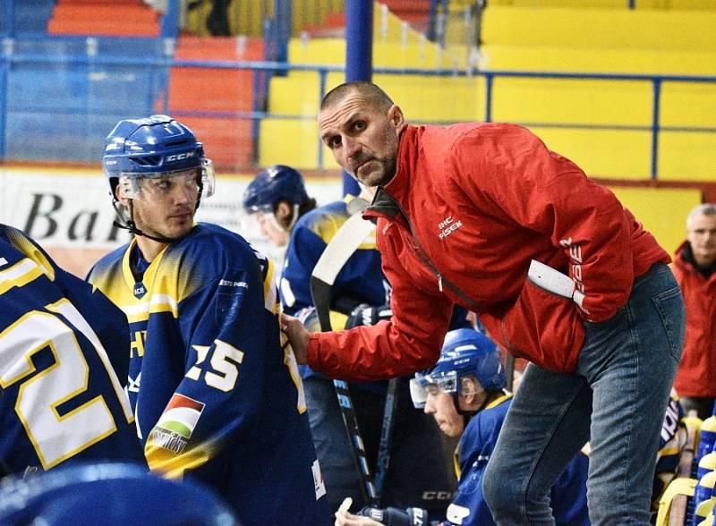 Luboš Rob nově bude prvním asistentem trenéra hokejového Zlína.
