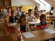 Se školním rokem 2016/2017 se v pátek rozloučili také žáci ZŠ Fryšták.