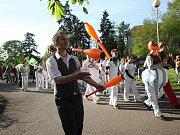 Festival Culturea 2015 - průvod městem