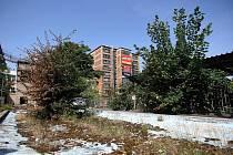 Baťák: Bývalé koupaliště, budoucí laboratoře UTB