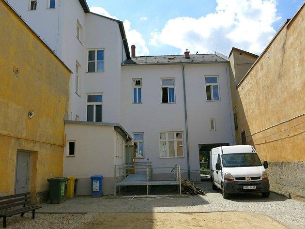 Opravený dům U Slunce  - Valašské Klobouky